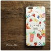 เคส iPhone 6 Plus เคสนิ่ม TPU พิมพ์ลาย (COLORFUL Series) แบบที่ 1 Enjoy Summer Cocktails