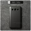 เคส Samsung Galaxy Core 2 / 2 Duos - Metalic Hard Case เคสแข็ง สีดำเมทัลลิก