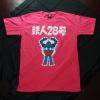 T-Shirt เสื้อยืดกันดั้ม Tetsujin (Zaku II) สุดเท่ห์ สีชมพู จากร้าน GUNZU !!โปรโมชั่น