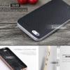 เคส iPhone 5 / 5S / SE เคส iPaky Hybrid Bumper เคสนิ่มพร้อมขอบบั๊มเปอร์ สีดำขอบเงิน