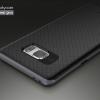 เคส Samsung Galaxy Note FE เคส iPaky Hybrid Bumper เคสนิ่มพร้อมขอบบั๊มเปอร์ สีดำ ขอบ เทา Deep gray