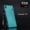 เคส Lenovo A7000 / A7000+ / K3NOTE เคสนิ่ม TPU สีเรียบ สีฟ้า