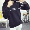 Korea เสื้อแฟชั่น แขนยาว บุกันหนาว สีเทา รุ่น 028-6270