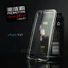 เคส Vivo Y27 l เคสนิ่ม Super Slim TPU บางพิเศษ พร้อมจุด Pixel ขนาดเล็กด้านในเคสป้องกันเคสติดกับตัวเครื่อง สีใส