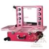 กระเป๋า รถเข็น โต๊ะเครื่องแป้ง กล่องเก็บเครื่องสำอาง Beauty Secret D Professional Cosmetics Bag รุ่น PCB-001 Pink