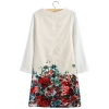 Autoleader ZANZEA Sexy Women Summer Casual Floral Short SleeveParty Evening Cocktail Mini Women - Dresses (Intl)