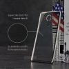 เคส Huawei Mate 8 เคสนิ่ม TPU ใส (ขอบเงา) สีเงิน