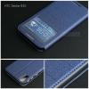 เคส HTC Desire 830 เคสฝาพับแม่เหล็ก (เย็บขอบ) พับเป็นขาตั้งได้ สีน้ำเงิน