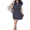Zanzea New Women Retro Porcelain Floral Top Shirt Casual SummerBeach Party Mini Ladies Dresses