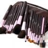 แปรงแต่งหน้า ชุดเซ็ท แปรงแต่งหน้า คุณภาพดี ขนอ่อนนุ่ม Cerroqreen Makeup Brush Set Professional Artists /21ชิ้น - สีม่วง
