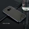 เคส Samsung Galaxy S6 Edge เคสฝาหลัง + Bumper ขอบกันกระแทก สีสเปซเกรย์ (แบบ Luxury)