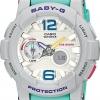 CASIO Baby-G Standard Analog Digital Ladies Watch รุ่น BGA-180-3BDR