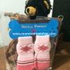 ถุงเท้าสุนัข ถุงเท้าแมว มี 4 ข้าง (XL)