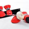 รองเท้าสุนัข รองเท้าแมว สีแดง (4 ข้าง)