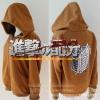 Preorder เสื้อกันหนาว Attack titan brow [งานปัก]