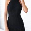 Yika Women's Lace Long Sleeve O-Neck Owl Print Loose Mini DressS-XL (Gray) (Intl)