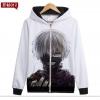 Preorder เสื้อกันหนาวฮู้ดมีซิป Tokyo Ghoul ver 8
