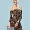 ZigZagZong Spaghetti Strap Hip-wrapped Color Block FlouncingWomen's Mini Ladies Dresses Clubwear White