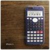 เคส iPhone 6 , 6s (4.7 นิ้ว) เคสนิ่ม TPU (Old School Series) ลายเครื่องคิดเลขสีน้ำเงิน