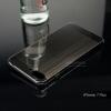 เคสสำหรับ iPhone 7 Plus เคสฝาหลัง + Bumper ขอบกันกระแทก (เสริมขอบกันกระแทก) สีสเปซเกรย์ (แบบ Luxury)