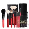 แปรงแต่งหน้า รุ่นพิเศษ /10 ชิ้นCerro Qreen Professional Makeup Brushes Dream Set - Red (Limited Edition)
