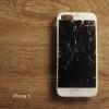 เคส iPhone 5 / 5S / SE เคส TPU พิมพ์ลาย หน้าจอแตก