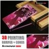 เคส Lenovo A7000 / A7000+ / K3NOTE Bumper + Cover พิมพ์นูน สามมิติ (แบบสไลด์) ลาย R