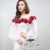 White dress rose
