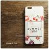 เคส iPhone 6 Plus เคสนิ่ม TPU พิมพ์ลาย (COLORFUL Series) แบบที่ 3 Enjoy Summer