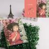 Preorder สมุดปกแข็ง Spirited Away Hayao Miyazaki [DBJB076]