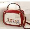 กระเป๋า Axixi กระเป๋าสไตล์ญี่ปุ่น และกระเป๋าสไตล์เกาหลี มาในโทนสีแดง ร้าน Asia Street Fashion
