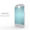 MOTOMO INO METAL for Galaxy S4 (Aqua Blue)