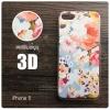 เคส iPhone 5 / 5s / SE เคสแข็งพิมพ์ลายนูน สามมิติ 3D แบบ 9