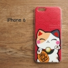 เคส iPhone 6 / 6s เคส TPU พิมพ์ลาย แมวกวัก