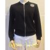 Love life เสื้อแจ็คเก็ตมีฮู้ดW02(สีดำ)