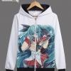 Preorder เสื้อกันหนาวฮู้ดมีซิป Hatsune Miku ver6