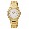Seiko Women's SUT130 Expansion Analog Display Japanese Quartz Gold Watch