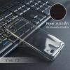 เคส Vivo Y31 เคสนิ่ม Slim TPU บางพิเศษ พร้อมจุด Pixel ขนาดเล็กด้านในเคสป้องกันเคสติดกับตัวเครื่อง สีดำใส