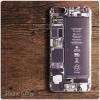 เคส iPhone 6 Plus เคสนิ่ม TPU พิมพ์ลาย Circuit