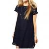 Bodycon Short Sleeve Midi Shop Fashion Dresses Online (Black)