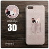 เคส iPhone 5 / 5S / SE เคสนิ่ม สกรีนลาย 3D ลายที่ 2