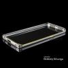 เคส Samsung Galaxy S6 Edge ขอบกันกระแทก Bumper (สีเงิน / ขลิบทอง)