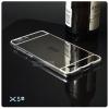 เคส Vivo X5 / X5L l เคสฝาหลัง + Bumper (แบบเงา) ขอบกันกระแทก สีเงิน