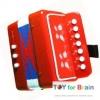 Mini Accordion For Kids - Red แอคคอร์ดเดียนสำหรับเด็ก