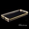 เคส Samsung Galaxy S6 Edge ขอบกันกระแทก Bumper (สีทอง / ขลิบทอง)