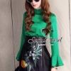 Glamorous Fashionista Blouse&Skirt Set by Seoul Secret