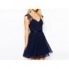 Chiffon Mini Women is Dresses Online (Beige)