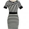 Moonar Women's Deep V-Neck Short Sleeve Lace mini Dresses White