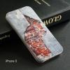 เคส iPhone 5 / 5S / SE เคส TPU พิมพ์ลาย กำแพงแตก