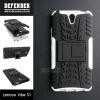 เคส Lenovo Vibe S1 เคสบั๊มเปอร์ กันกระแทก Defender (พร้อมขาตั้ง) สีขาว